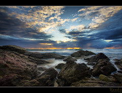 I miss you (Reedy Photography) Tags: beach water sunrise rocks australia miamibeach hdr canon1022mm canon40d reedyphotography