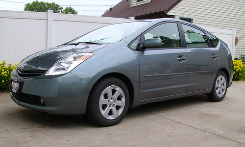 2004 car electric grey prius toyota larrypage hybred