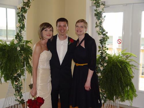 Elizabeth, Chad, Erica