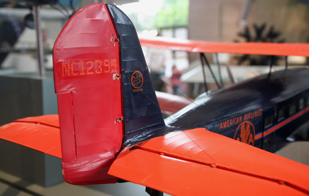 Curtiss Condor Model Tail by Mr. T in DC, on Flickr
