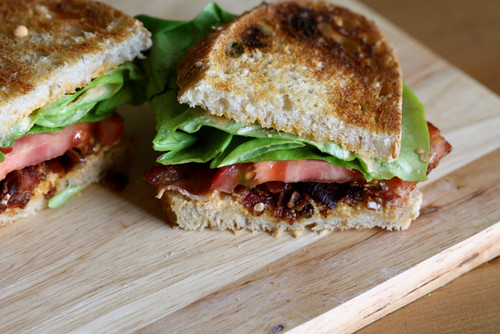 Roasted Red Pepper Mayonnaise on                         The Best BLT