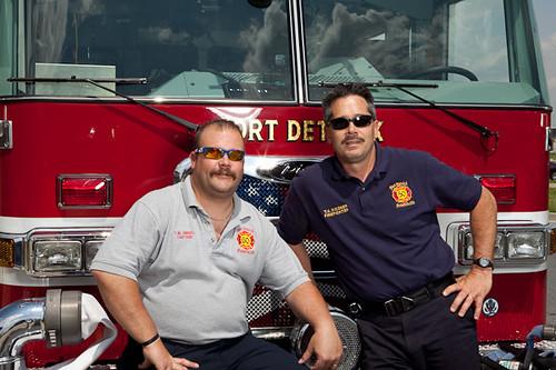 Fort Detrick firemen (Frederick, MD)