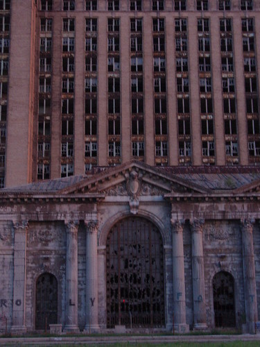 Michigan Central Station, abandoned P5240047