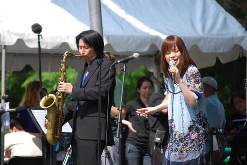 Kawashima Ai with Yaz Band