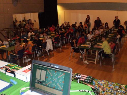 Ja tenim la sala plena por Club Scrabble el Prat.