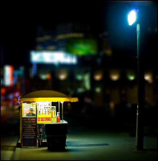 Find me under the light - $3.50