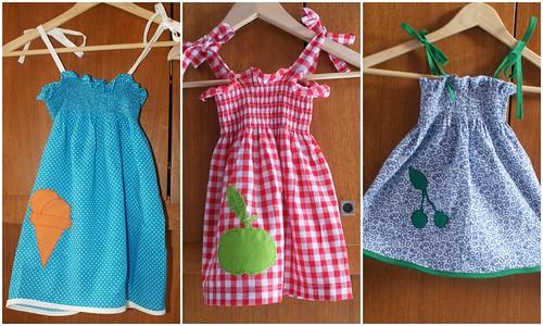 drie kleedjes