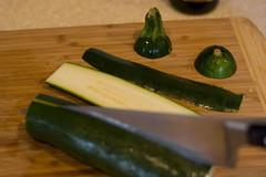 Prep your zucchini