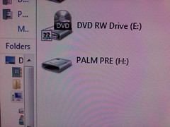 Palm Pre doesnt have icon in Vista