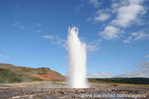 Geysir ou Géiser na Islândia