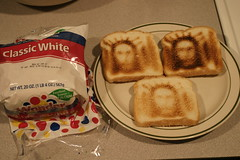wonder bread + 3 toaster settings.