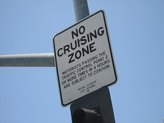 no cruising (_melika_) Tags: sign traffic cruising hollywood sunsetblvd nocruising