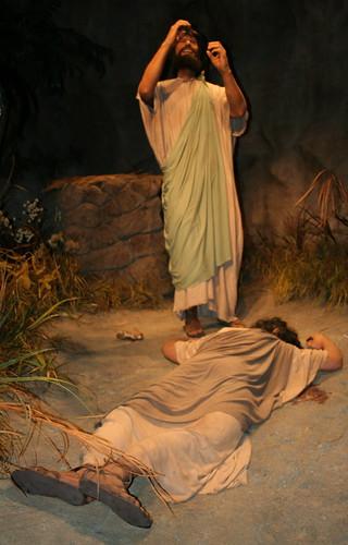 Cain kills abel