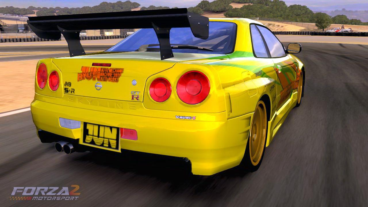 Nissan Skyline R34 GTR by
