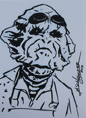 Keenser Sketch Card