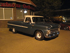 Chevy C-10 Pickup Truck (blondygirl) Tags: auto chevrolet car truck pickup pickuptruck chevy tuner uc import musclecar c10 chevyc10 unitedcycle