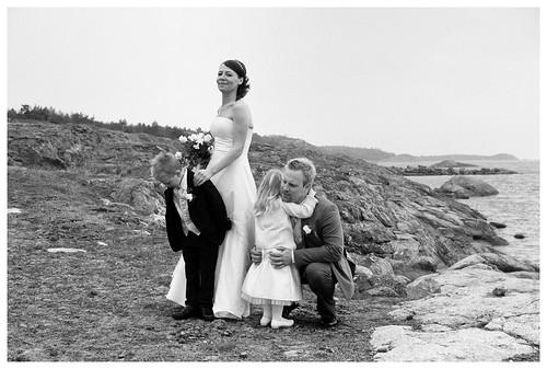Magnus, Maria, Emil och Anni..