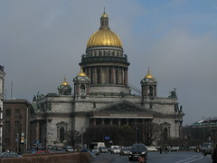 St  Isaac's Cathedral, St Petersburg, Russia (Marc_P98) Tags: church st cathedral russia petersburg christian russian orthodox isaacs colonnade