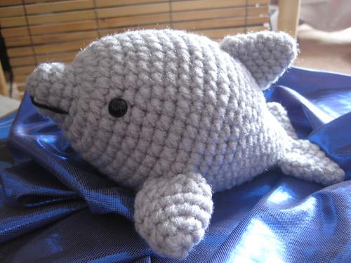 Crochet Amigurumi Dolphin Pattern : Amigurumi Dolphin - We Love Amigurumi