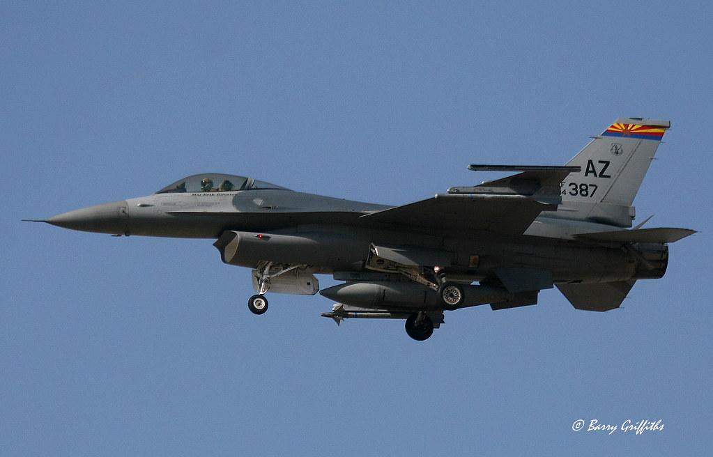 """F-16C 84-1387 """"Warhawks"""""""
