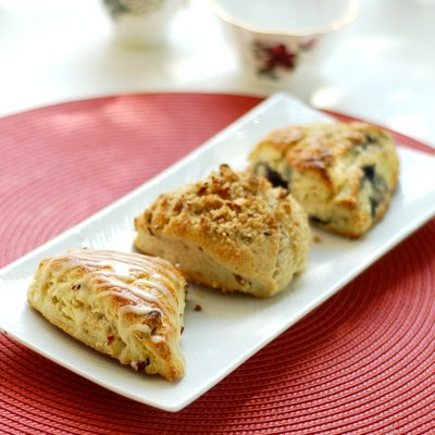 Trio of Scones