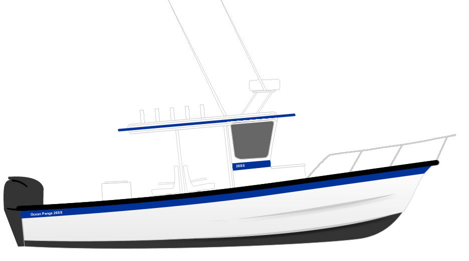 feedback on custom 26' super panga design - The Hull Truth ...