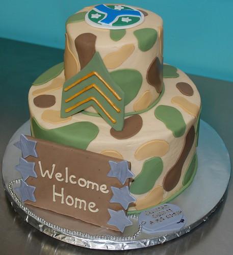 Welcome Home Military Cake Ideas Military Welcome Home Cake