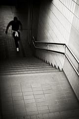 Para Bellum (Skid X) Tags: man motion black blur scale backlight stair action steps run uomo bologna movimento nero controluce corsa gradini azione skidx