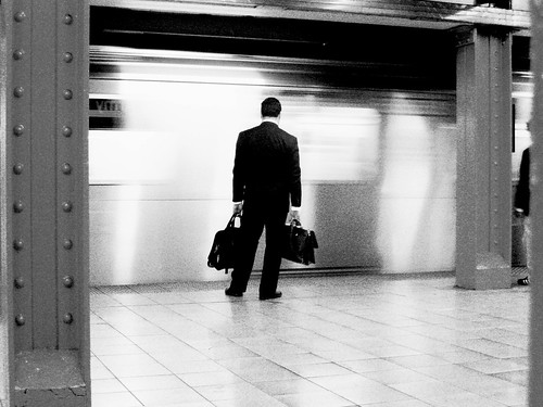 DAY 365:SUBWAY SUIT