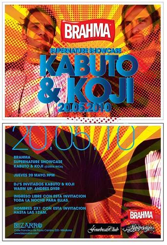 Kabuto & Koji - Bizarro Bar