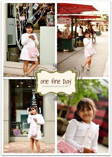 one fine day ...