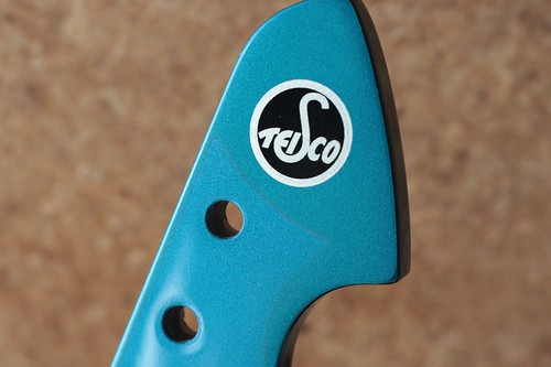 TEISCO SP-62 headstock close-up