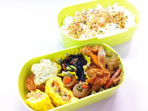 今日のお弁当 No.170 – 緑黄野菜