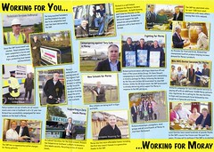 SNP Scottish Election Leaflet, 2011 (Scottish Political Archive) Tags: party scotland election scottish msp national publicity campaign moray snp 2011 lochhead