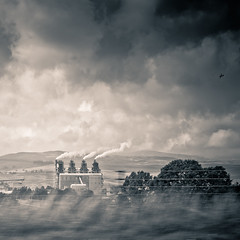 Cloud Factory (gregheath) Tags: clouds factory cumbria shap