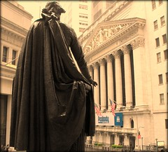 Wall St., where our future is decided day by day (Lindsay Wells) Tags: newyork manhattan wallstreet