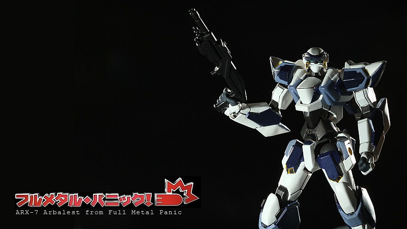 Arbalest ARX-7 from Full Metal Panic! ?????·????! (Revoltech version)