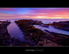 Snapper Rocks_0166 (Baileyimagery) Tags: ocean longexposure sea seascape water clouds sunrise canon dawn rocks mood moody seascapes earlymorning surreal scapes goldcoast longexposures snapperrocks rainbowbay 1740mmlf4 5dmkll baileyimagery