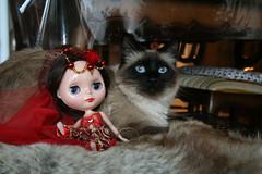 Princesse copine avec Dahlia