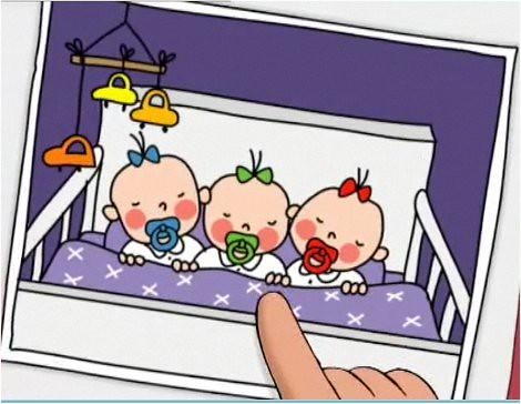 Cinema amb les tres bessones