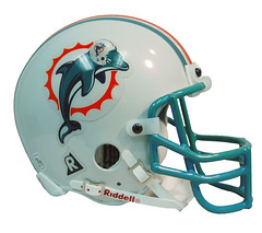 What the Miami Dolphins helmet SHOULD look like. (dresdnhope) Tags: football miami dolphin infinity helmet dolphins regress regression infinite americanfootball miamidolphins