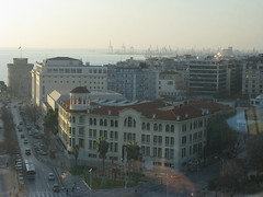 YMCA - Thessaloniki, Greece (Tilemahos Efthimiadis) Tags: white tower cafe harbour hellas greece macedonia 100views thessaloniki 200views ymca 50views openstreetmap makedonia          revolvingcafe osm:way=140156303 address:country=greece address:city=thessaloniki