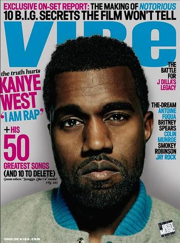 kanye west 2009 vibe magazine cover