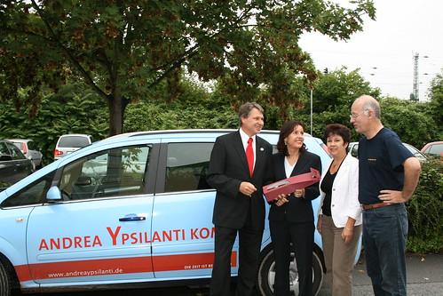 Hessentour von Andrea Ypsilanti