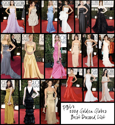 Golden Globes 2010 Best Dressed at the Golden Globes!