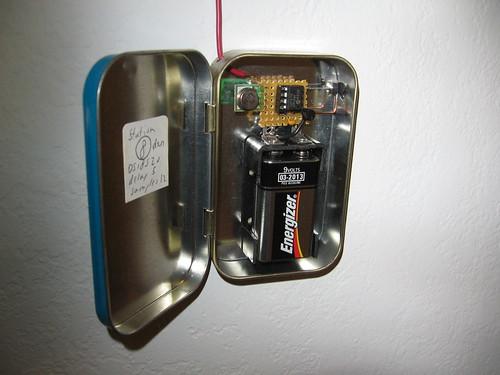 Dallas 1-wire Wireless Temperature Sensor