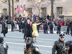 BarackMichelleWalk_Inauguration (dalesun) Tags: dc washington parade obama inauguration barackobama michelleobama