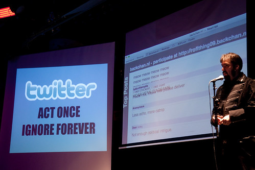 Twitter: Act Once, Ignore Forever