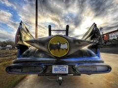 The Batmobile (Stuck in Customs) Tags: panorama motion beautiful robin lines car modern clouds composition race racecar speed austin fun photography book crazy amazing cool nikon mod automobile shoot comic december texas photographer technology shot angle geek image unique background details perspective picture fast super symmetry replica edge hero processing stunning batman pro modified kit trailer redneck framing top100 portfolio lovely capture batmobile 2008 emotions hdr hitch confluence texan brenham trailerhitch treatment unfamiliar stuckincustoms d3x treyratcliff nikond3x lucisart6 batsix