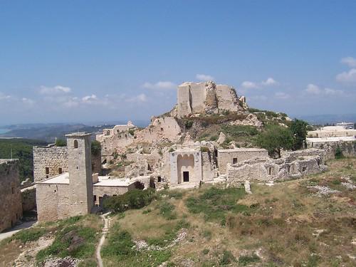 Haute-cour du Château de Saladin/Saône/Sahyun (Syrie, 2008)